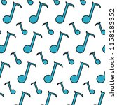 color quarter musical note sign ... | Shutterstock .eps vector #1158183352