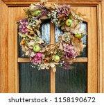 Colorful Autumn Wreath