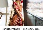 Indian Bridal Wearing Wedding...