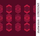 ethnic boho seamless pattern.... | Shutterstock .eps vector #1158231565