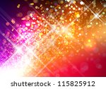 beautiful abstract illustration ... | Shutterstock . vector #115825912