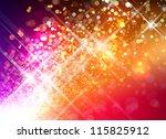 beautiful abstract illustration ... | Shutterstock . vector #115825912