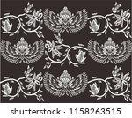 batik indonesian  is a... | Shutterstock .eps vector #1158263515