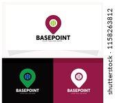 baseball point logo design...