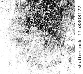 grunge texture is black and... | Shutterstock .eps vector #1158308122