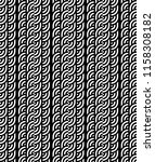 seamless pattern with circles... | Shutterstock .eps vector #1158308182