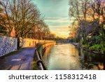 dublin  ireland  march 2018 ... | Shutterstock . vector #1158312418