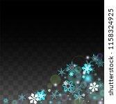 winter vector background with... | Shutterstock .eps vector #1158324925