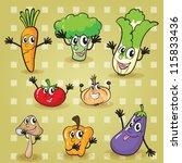 illustration of various... | Shutterstock . vector #115833436