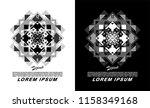 t shirt design vector geometric ...   Shutterstock .eps vector #1158349168