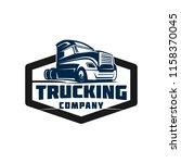 truck company transportation... | Shutterstock .eps vector #1158370045