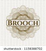 brown abstract linear rosette... | Shutterstock .eps vector #1158388702