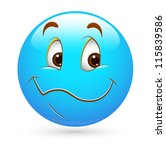 smiley emoticons face vector  ... | Shutterstock .eps vector #115839586
