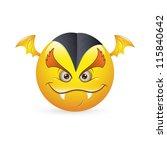 smiley emoticons face vector  ... | Shutterstock .eps vector #115840642