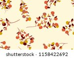 tropical seamless pattern.... | Shutterstock .eps vector #1158422692