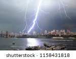 Large Lightning Strike In...