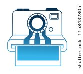 camera photographic instant... | Shutterstock .eps vector #1158432805