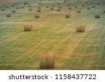 field of hay at tierra del... | Shutterstock . vector #1158437722