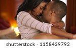 romantic black male and female... | Shutterstock . vector #1158439792