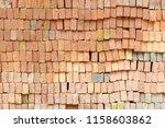 old brick wall texture... | Shutterstock . vector #1158603862