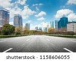 the modern building | Shutterstock . vector #1158606055