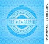 free membership sky blue water... | Shutterstock .eps vector #1158612892