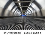 blurred motion of airport... | Shutterstock . vector #1158616555
