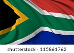 south africa flag hi res... | Shutterstock . vector #115861762