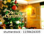 luxury interior of restaurant...   Shutterstock . vector #1158626335