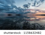perfect and symmetric clouds... | Shutterstock . vector #1158632482