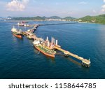 oil tanker  gas tanker in the... | Shutterstock . vector #1158644785