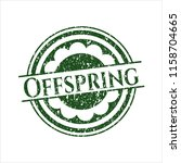 green offspring distressed... | Shutterstock .eps vector #1158704665