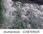 sparkling waves  top view.... | Shutterstock . vector #1158705025