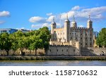 View Of The Tower Of London  A...
