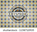offspring arabic badge... | Shutterstock .eps vector #1158710935