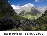 fiordland national park.... | Shutterstock . vector #1158731608