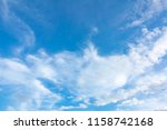 Sky Blue Clear Clouds Sky - Fine Art prints