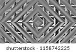 seamless pattern with striped...   Shutterstock .eps vector #1158742225