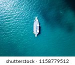 a vehicle barge anchored in... | Shutterstock . vector #1158779512