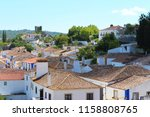 scenic view on top of a small...   Shutterstock . vector #1158808765