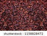 Raisins As Background Grape...
