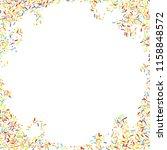 sprinkles grainy. sweet... | Shutterstock .eps vector #1158848572