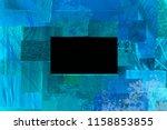 creative dark atmosphere art... | Shutterstock . vector #1158853855