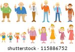 people | Shutterstock .eps vector #115886752