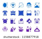 insomnia silhouette icons set....   Shutterstock .eps vector #1158877918