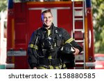 Photo Of Happy Fireman With Gas ...