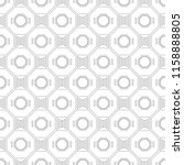 black and white geometric... | Shutterstock .eps vector #1158888805