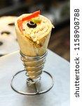 delicious cheese vegetarian... | Shutterstock . vector #1158908788