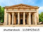 the neue wache memorial in... | Shutterstock . vector #1158925615