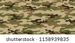 seamless camouflage pattern.... | Shutterstock .eps vector #1158939835